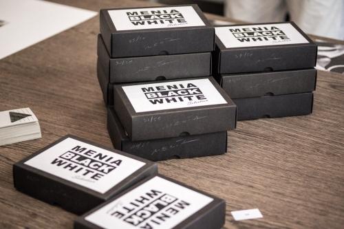 BLACK:WHITE Box, limitierte Auflage mit je 10 Karten (Din A 6)